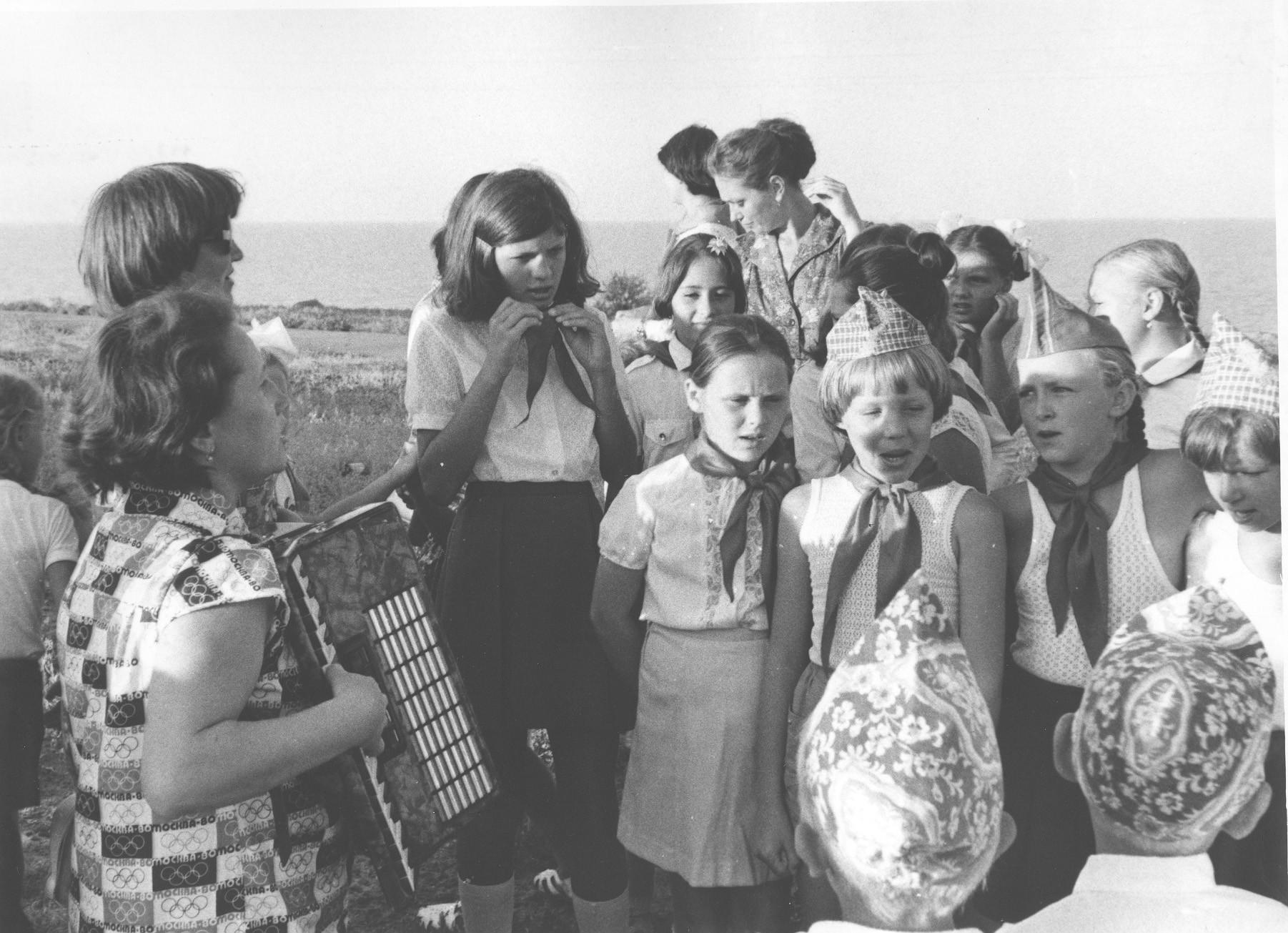 Рассказ в пионерском лагере 5 фотография
